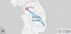 South Korean Express - 7 days - 4 destinations
