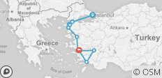 Istanbul to the Med - 7 days - 11 destinations