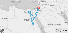 Egypt & Jordan Discovered By Land - 18 destinations