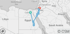 Egypt & Jordan Discovered By Felucca - 19 destinations