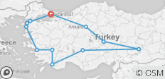Turkey Encounters - 11 destinations