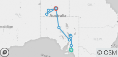 Outback Gem (Ex Adelaide) 2019-20 - 10 destinations