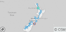 Grand Kiwi (ex. Auckland) 2018-19 (Te Anau) - 21 destinations