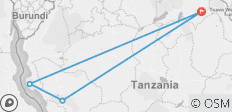 Tanzania: Tango with Chimps - 4 destinations