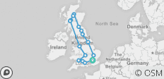 Great Britain - 7 Days - 16 destinations