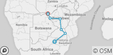 African Insight (Ex Johannesburg) -19 (Livingstone ) - 8 destinations