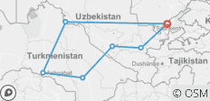 Central Asia Journey - 7 destinations