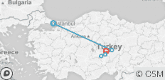 Turkey Panorama - 5 destinations