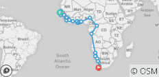Western Trans Africa, Sahel to the Cape - 46 destinations