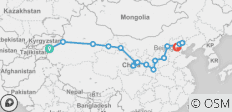 Western & Northern China Overland (Kashgar to Beijing) - 16 destinations