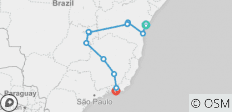 Brazilian Coast, Capitals & Chapadas (Salvador To Rio) - 11 destinations