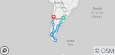 Patagonia & Beyond (Buenos Aires to Santiago) - 18 destinations