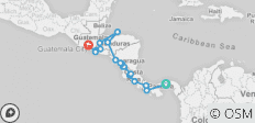 Central America Discovery (Panama City to Antigua) - 18 destinations