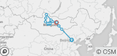 Silk Route between Beijing and Ulaanbaatar (Beijing to Ulaanbaatar) - 14 destinations