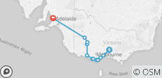 Melbourne to Adelaide Tour via the Great Ocean Road and Grampians National Park - 12 destinations
