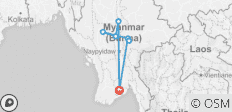 Cycle Myanmar - 8 destinations