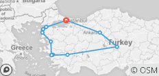 Turkey Unplugged - 10 Days - 13 destinations