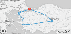 Turkey Unplugged - 10 Days - 11 destinations