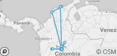 Discover Colombia - 11 destinations