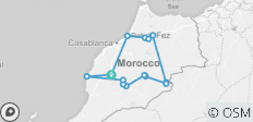 Highlights of Morocco - 15 destinations