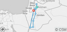 A Week in Jordan - 10 destinations