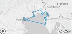 Cycle the Adriatic: Venice to Porec Self-Guided - 18 destinations