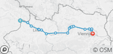 Self-Guided Cycling on the Danube from Passau to Vienna - 18 destinations