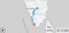 Cycle Kerala & Tropical India - 12 destinations