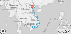 Cycling Vietnam - 16 destinations