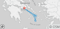 Walking on the Greek Islands - 14 destinations
