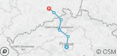 Cycle Prague to Dresden - 7 destinations