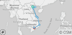 Vietnam by Bike - 10 destinations