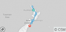 Northern Choice (Auckland To Christchurch Summer - 12 destinations