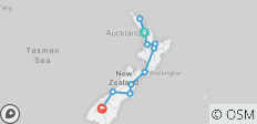 The Big Tiki (Start Auckland, End Queenstown, Summer, 17 Days) - 11 destinations
