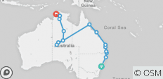 The Big Walkabout (Start Sydney - Until Mar 2019) - 16 destinations