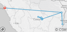 Cusco To Lima (12 Days) Incas & Amazon (inc. Amazon Jungle) - 8 destinations