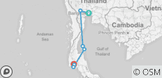 Thaiventure - 18 day backpacking trip to Thailand - 7 destinations