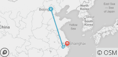 Beijing to Shanghai - 3 destinations
