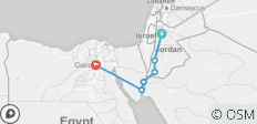 Jordan & Egypt Express - 6 destinations