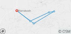 Marrakech To Marrakech (9 Days) Souks & Sand Dunes - 6 destinations