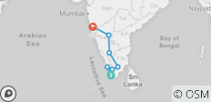 South India Revealed - 8 destinations