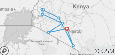 Kenya Cultural Safari - 9 destinations