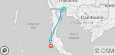 Cycling Coastal Thailand - 7 destinations