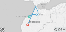 North Morocco Adventure - 8 destinations