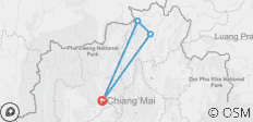 Chiang Mai & Golden Triangle - 4 destinations