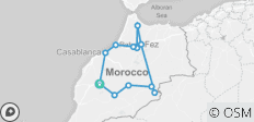Timeless Morocco - 12 destinations