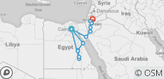 Experience Egypt & Jordan 15 days 5* Nile Cruise  - 15 destinations
