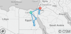 Experience Egypt & Jordan – 5* Cruise - 15 destinations