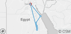 Egypt Explorer 10 Days, Felucca Cruise & 2 days at Red Sea - 8 destinations