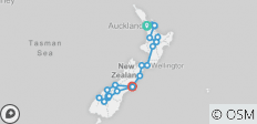 Amplified NZ Tour - 24 destinations